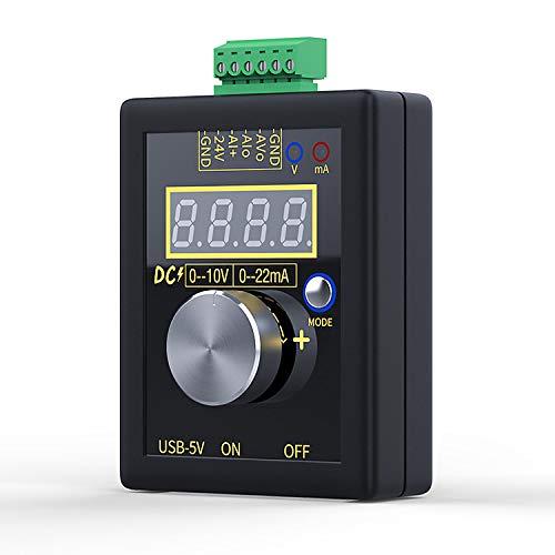 VISLONE SG-002 - Generatore di corrente portatile a bassa tensione, DC 0-10 V, 0-22 mA