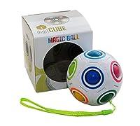 digitCUBE Magic Ball Spielzeug 2019 Fidget Regenbogen Puzzle Zauberball für Konzentration Geschenk für Kinder Geburtstag