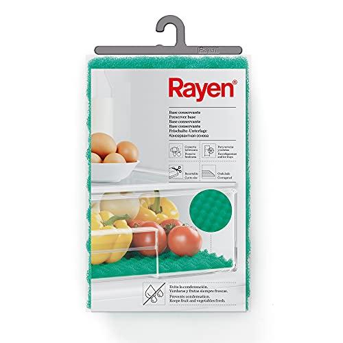 Rayen Tapis Anti-Moisissure, Vert, 47 x 30 cm