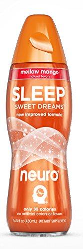 Neuro Sleep Drink, Mellow Mango, 14.5 Ounce (Pack of 12)
