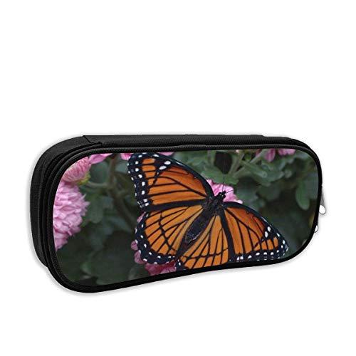 School Pencil Case Butterfly Viceroy Bolso Bolígrafo Papelería de oficina Bolsa para útiles...