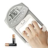 Handeful Grip Strength Tester, Digital Dynamometer for Hand Measurement Meter Auto Capturing Electronic Forearm Finger Power 198 Lbs / 90 Kgs, Gripping Strengthener for Sport, Home, School, Clinic Use