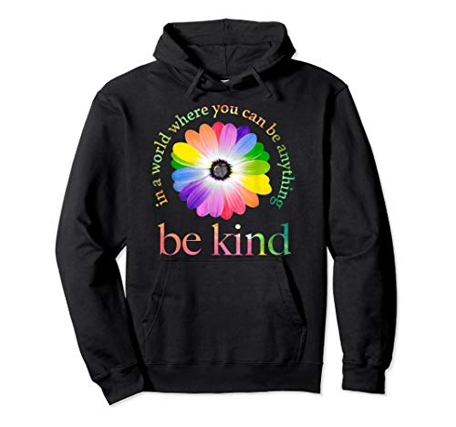 In a world where you can be anything be kind gift Pullover Hoodie