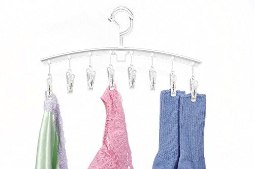 Whitmor Clip Drip Add-On Hangers -White - Set of 3