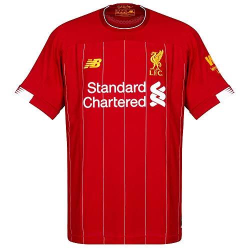 New Balance Offizielles Heimtrikot Liverpool FC, Saison 2019/20, für Herren, Kurzarmshirt XL rot