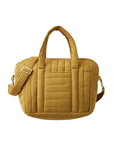 Cyrillus Gesteppte Wickeltasche aus Baumwoll-Gaze ONE Size Karamell