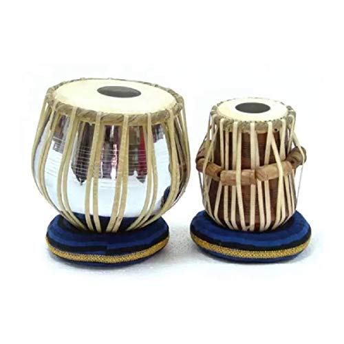 Akshar Tabla Mart Professional Sheesham Wood Dayan and Still Bayan with Bag with Hammer with Gaddi Set and PVC gatta