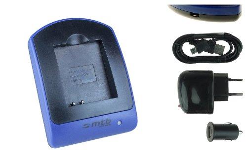 Ladegerät (USB, KFZ, Netz) NB-6L für Canon IXUS 105, 310 HS. / Powershot SX530 HS, SX600 HS. - s. Liste