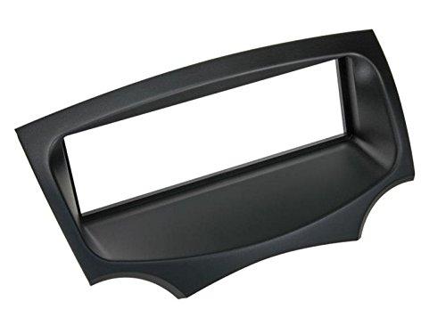 Audioproject A271 - Mascherina per vano autoradio da incasso per Ford KA II RU8 a partire dall'anno di costruzione 2009, con adattatore per mascherina radio, 2 adattatori per antenna, colore: nero