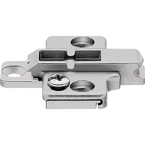 CLIP Montageplatte, 0 mm, Zink, Spax-Schrauben, HV: 2-teilig, 175H7100