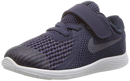 Nike Jungen Revolution 4 (TDV) Hausschuhe, Blau (Neutral Indigo/Light Carbon-Obsidian 501), Numeric_18_Point_5 EU