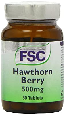 FSC 500mg Hawthorn Berry - Pack of 30 Tablets from FSC