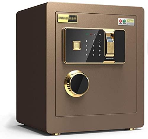 Caja fuerte de seguridad, cajas fuertes, cajas fuertes electrónicas para el hogar con huella digital mediana, contraseña para el hogar, gabinete de seguridad para oficina, caja fuerte de 36 30 40Cm