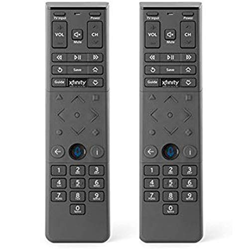 (2 Pack) Xfinity Comcast XR15 Voice Control Remote for X1 Xi6 Xi5 XG2 (Backlight)