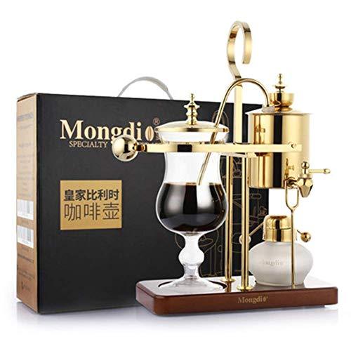 AYHa Royal Belgian Pot Heim Edelstahl belgische Kaffeekanne Syphon Manuelle Kaffeemaschine