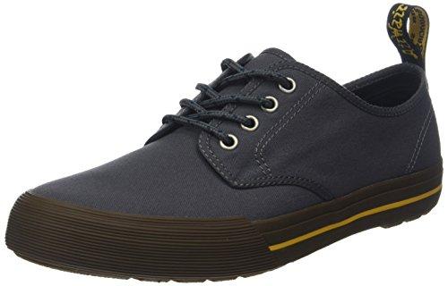 Dr. Martens Pressler, Sneaker Infilare Unisex-Adulto, Grigio (Grey 020), 43 EU