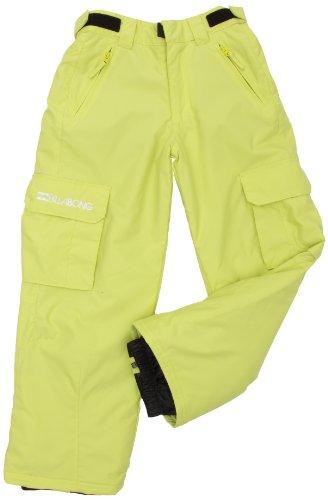 BILLABONG Jungen Snowboard Hose Fringe, Lime, 12, L6PB10BIW2