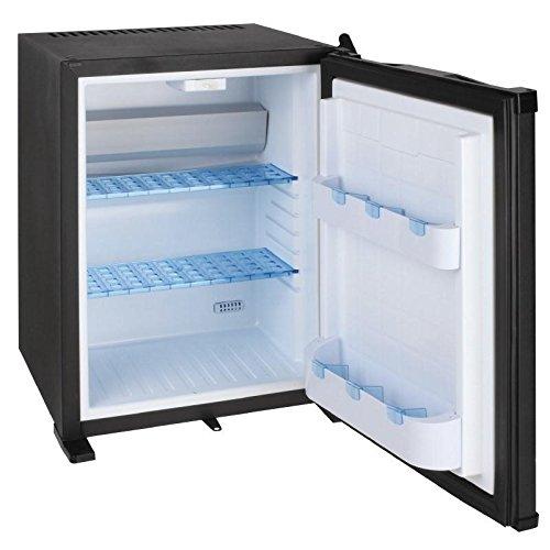 Mini Kühlschrank Minibar Getränkekühlschrank (30 Liter Volumen, 0 dB, abschließbar) schwarz
