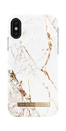 IDEAL OF SWEDEN Handyhülle für iPhone XS und X (Carrara Gold)