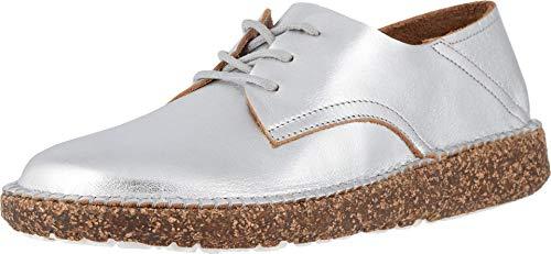 Birkenstock Womens Gary Loafer, Silver Leather, Size 42 N EU (11-11.5 N US Women)