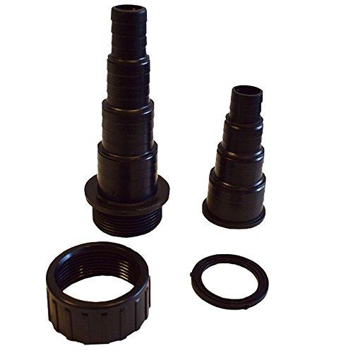 allpondsolutions Lot de réducteurs filetés mâle/Femelle BSP 40 mm/35 mm