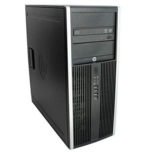 HP PC Tower Elite 8300 - Ordenador de sobremesa (Intel Core i7-2600, memoria RAM de 32 GB, 1 TB, Windows 10, Wi-Fi)