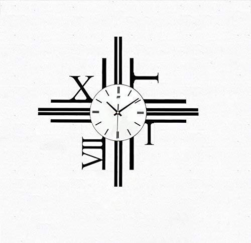 SMEJS Relojes, Moderna Minimalista Reloj de Pared de diseño nórdico Silencio no tictac Creativo Salón Dormitorio Salón Pasillo decoración de la Personalidad Comedor