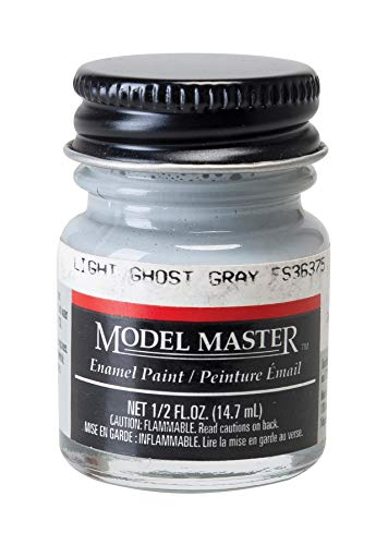 Testor Corp. Light Ghost Gray (FS 36375) 1/2 oz Enamel Paint Bottle