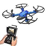 Potensic Drone con Fotocamera 720P HD Drone F181DH FPV LCD Monitore a...
