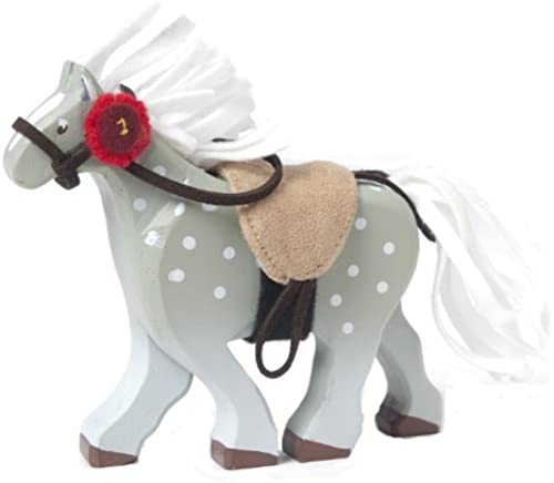Budkins grau Horse With Saddle by Budkins