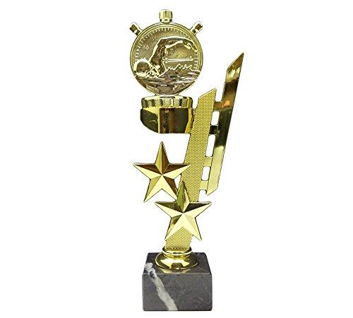 RaRu Schwimmer-Pokal (Sternenhalter) mit Ihrer Wunschgravur