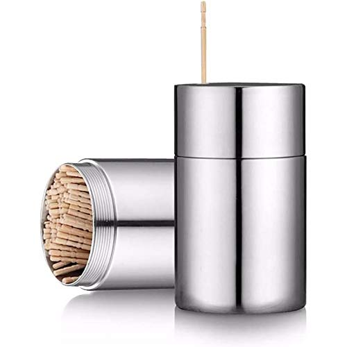 Tubo de palillo de acero inoxidable recto hasta creativo olla durable hotel 1 pc