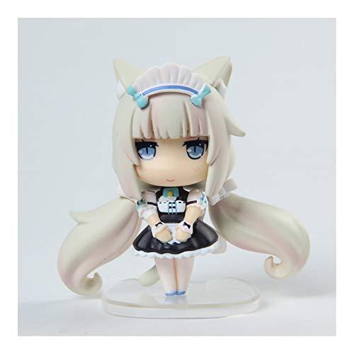 From HandMade Neue Nekopara Figur Vanille & Schokoladen Figur Anime Chibi Figur Action Figur (Color : Vanilla)