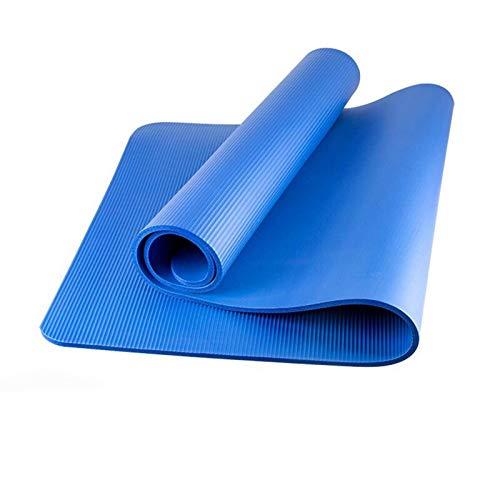 Nbr Yoga Mats, Non-Slip Yoga Mats, Exercise Mats, Exercise Mats, Yoga Mats, Pilates, Fitness, Etc. Ideal For Dynamic Yoga Styles-Thickness 10 Mm Sports Mats