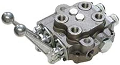 CROSS Manufacturing 136250 SBA Series Cast Iron Double Spool Monoblock Hydraulic Directional Control Valve, 3-Position, 4-Way, Open Centered, 3/4