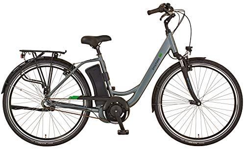 "Prophete Unisex– Erwachsene GENIESSER 20.EMC.20 City E-Bike 28\"" AEG EcoDrive, Silber, RH 48"