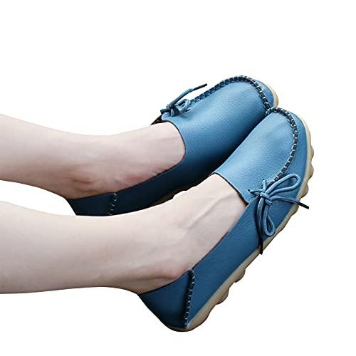 CYGGA Damen Ladies Halbschuhe bestickte Schuhe Flache Stoffsohlen Bequeme weiche Unterseite Retro Mittelalter Ältere bestickte Freizeit Flatch Frauen Schuhe natio