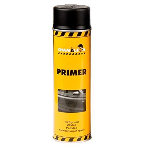 Chamäleon 1K Grundierung Spray 1 x 500ml Schwarz Füller Acryl Primer Filler Schichtfüller Korrosionsschutz