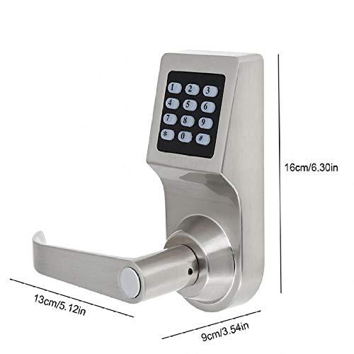 Schließzylinder Profilzylinder Zylinder Türzylinder Elektronisches 4-In-1-Türschloss Entriegelt Durch Passwort Rf-Kartenfernbedienungsschlüssel Home Security Entry Door Lock