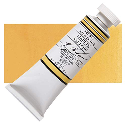 M. Graham Watercolor 15ml - Naples Yellow