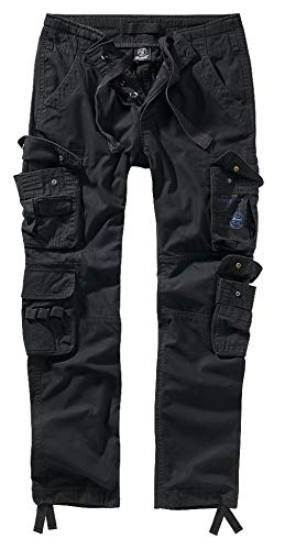 Brandit Pure Slim Fit Trouser - Schwarz - XL