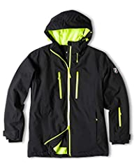 Fabric: 100% Polyester Waterproofing / Breathability: 20,000 millimeters of waterproofing and 10,000 grams of breathability with DWR coating, Shieldtex Proloft and fully-taped seams to keep you dry and lets moisture escape. Insulation: 80 grams. Remo...