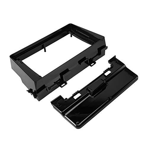 ZXZCV 9 Pulgadas Coche Fascia Fit para KIA Picanto Mañana 2018-2019 Fit para Radio Player Coche DVD Frame Audio Adaptador de Ajuste Dash Play Dash Kits (Color Name : Black)