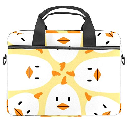 13.4'-14.5' Laptop Case Notebook Cover Business Daily Use or Travel White Chicken
