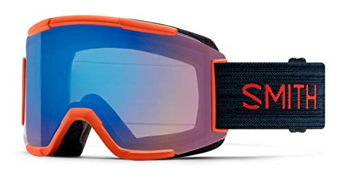 Smith Optics Squad Ski- Snowboardbrille RED Rock - ChromaPOP Rose Flash Strom