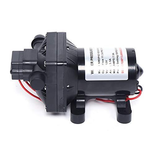12V 3GPM/11.3LPM Selbstansaugende Wasserpumpe, Selbstansaugende Druckwasserpumpe Für Wohnmobile