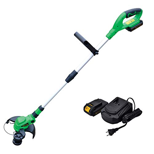 Werktough 20V G001 Cordless Grass Trimmer with 2.0A Battery and Fast Charger