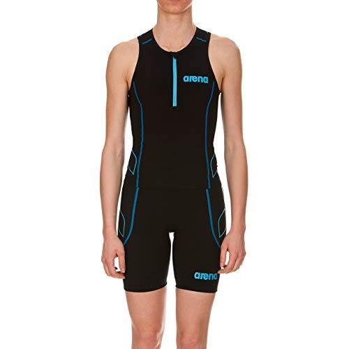 arena Damen Wettkampf Triathlon Oberteil Powerskin ST (Perfekte Kompression, Weniger Wasserwiderstand)