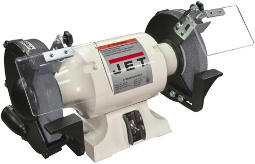 Lowest Price! JET Tools North America 577102 - Bench Grinder - 8 in Wheel Diameter, 1 hp, 120 V, 345...