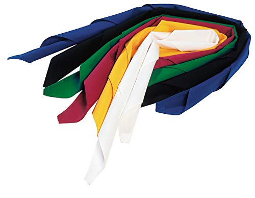 Berufsmode Halstuch Tuch Dreieckstuch Koch Halstücher Schweißtuch 120x80 cm (Weiß)